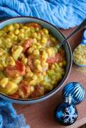 One Pot Vegan Corn Chowder