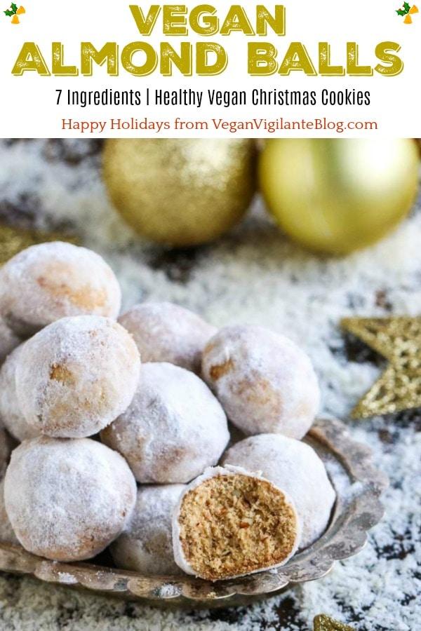 Vegan Almond Balls