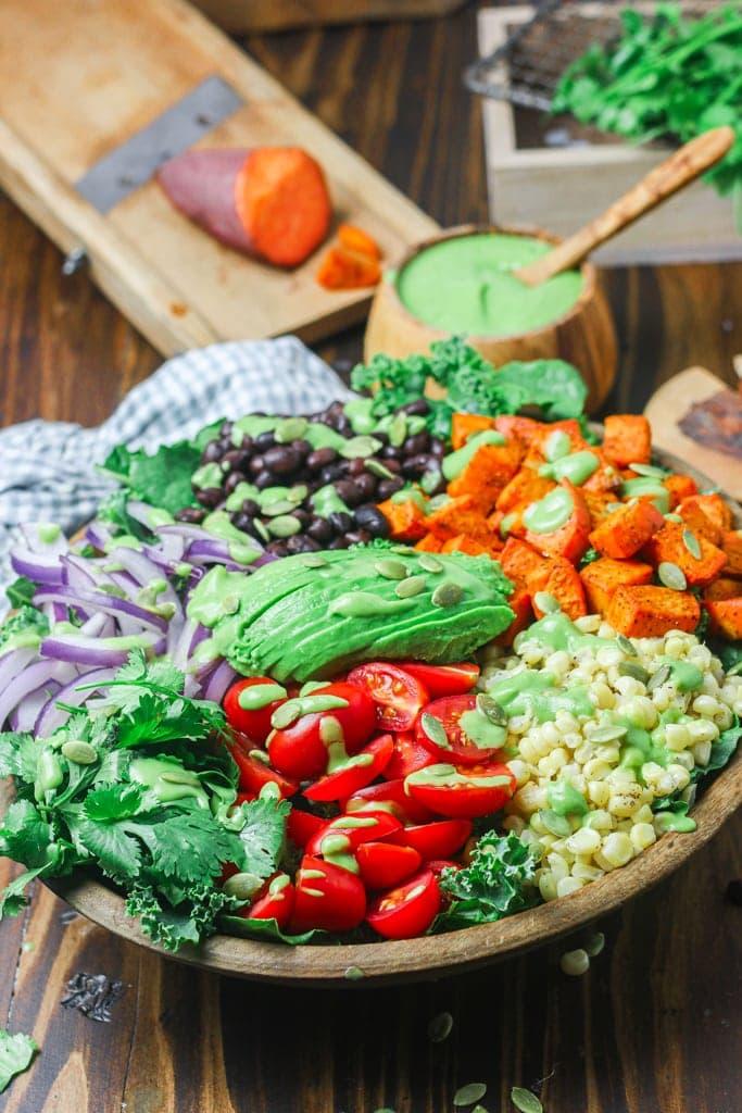 vegan southwest salad recipe