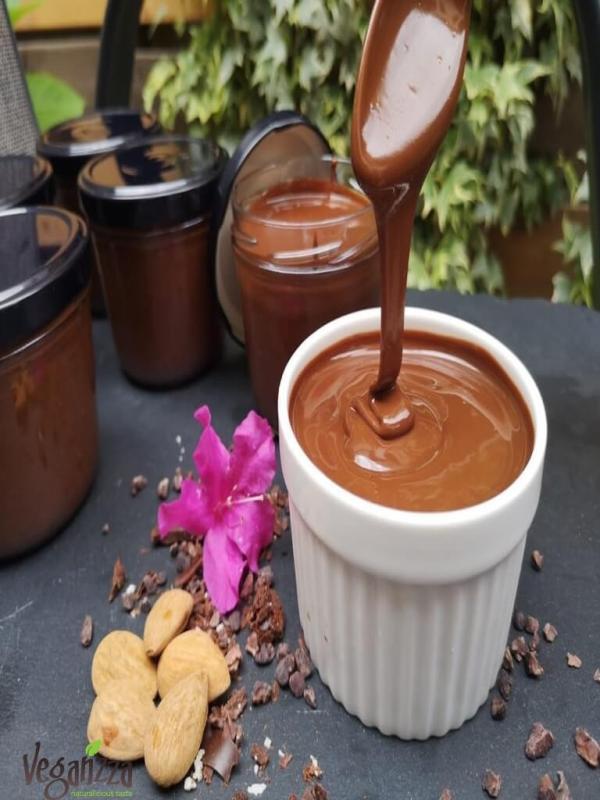 crema ciocolata Nutella raw vegan