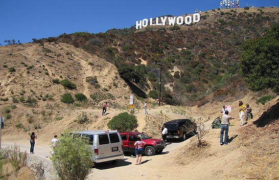 Hollywood Sign  Von wo aus fotografieren