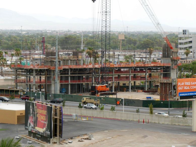 The Lucky Dragon Hotel and Casino Construction. June 6th, 2015