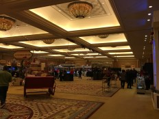 The view to the right immediately upon entering the ballroom