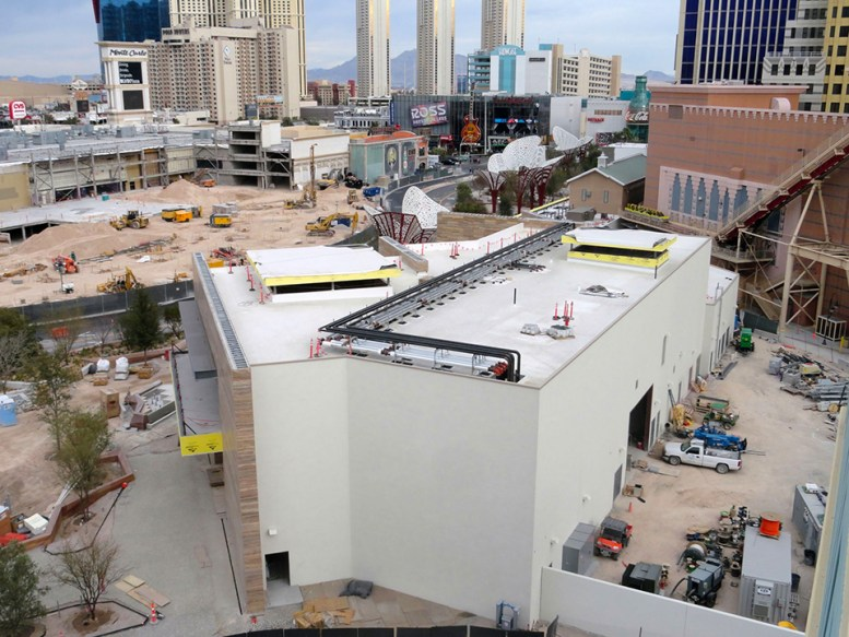 MGM's The Park and LV Arena New structure