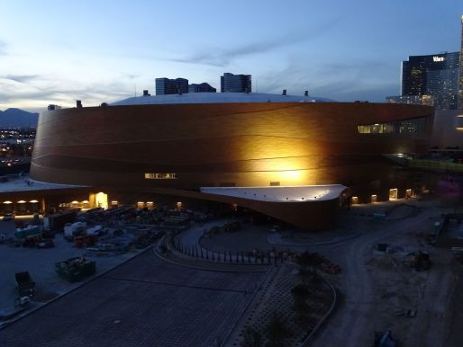 Arena at night
