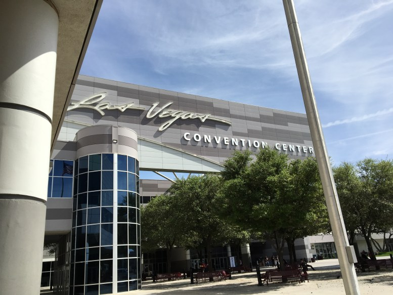 A beautiful day for a trip to the convention center