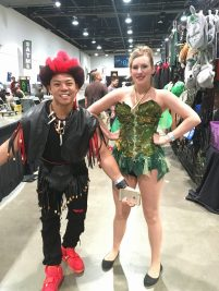Two of the cosplayers I talked to at the convention