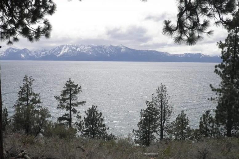 Breathtaking views all around Lake Tahoe.