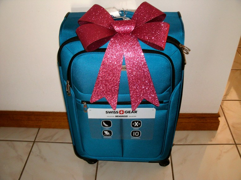Suitcase for Christmas