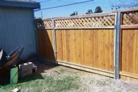 Picture Frame Style Fence