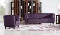 Bellini Purple Living Room   Las Vegas Furniture Store ...