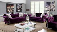 Jolanda Purple Living Room   Las Vegas Furniture Store ...