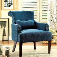 Teal Accent Chair Driving Simulator Agalva Fabric Las Vegas Furniture Store