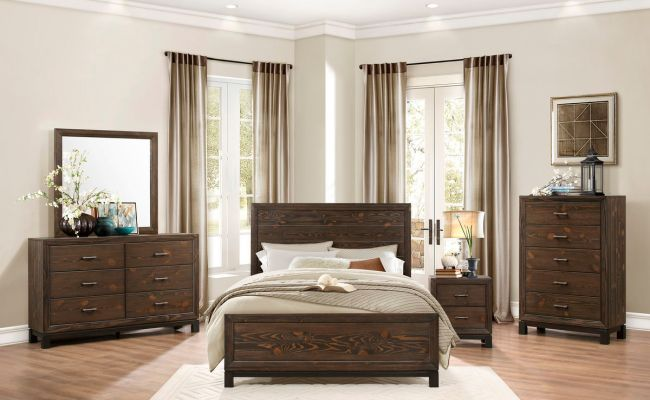 Be The First To Review Branton Rustic Modern Bedroom