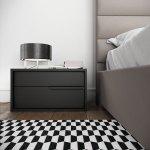 Jane Gray Oak Right Handle Nightstand Las Vegas Furniture Store Modern Home Furniture Cornerstone Furniture