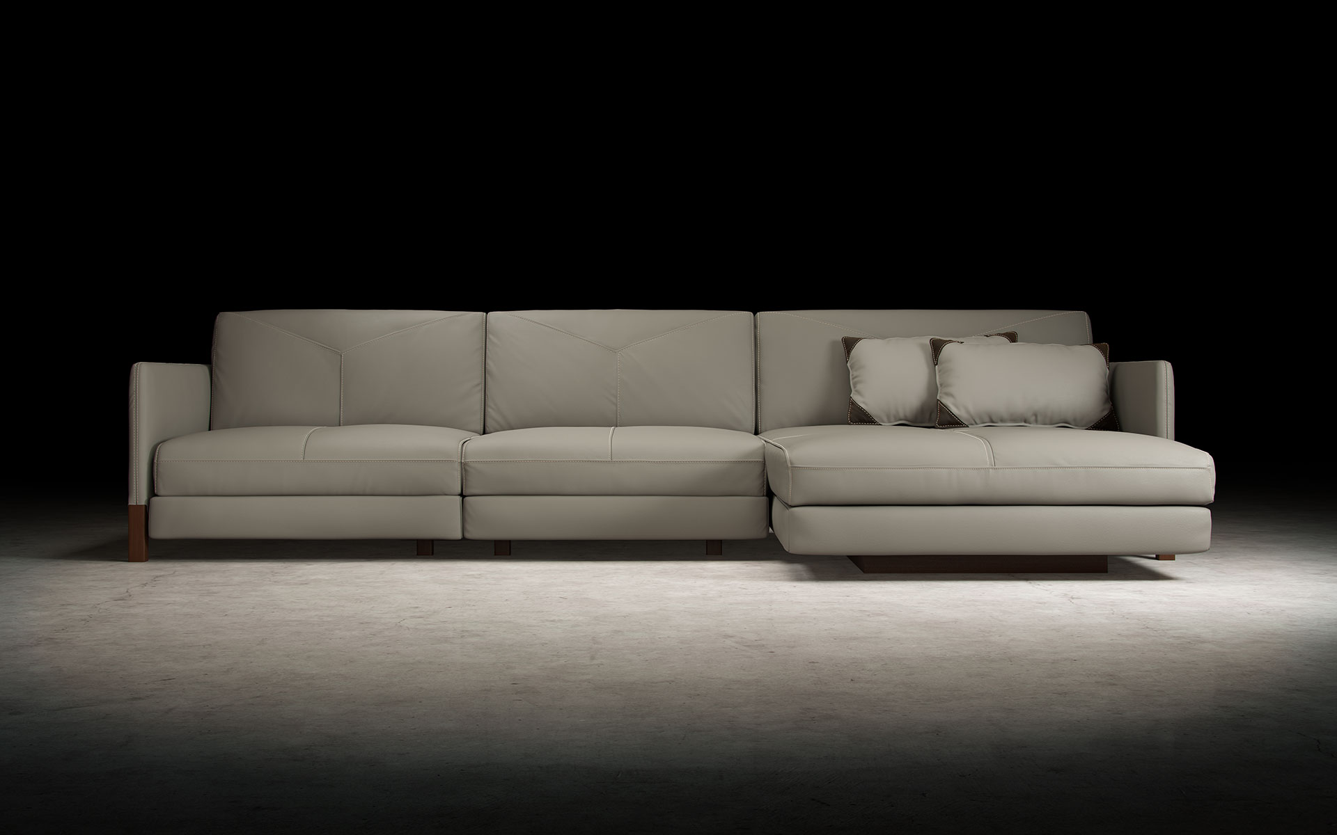 custom sectional sofas las vegas sofa upholstery south london lafayette opala with right chaise