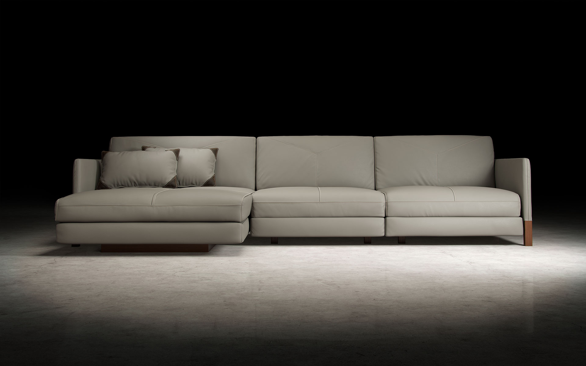 custom sectional sofas las vegas sofa score calculation lafayette opala with left chaise