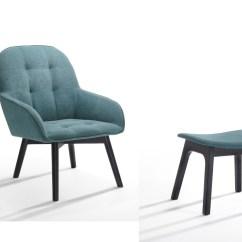 Dark Teal Accent Chair Elite Covers Inc Ruben Modern And Black Ottoman Las