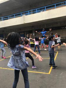 Kam Green gets kids moving