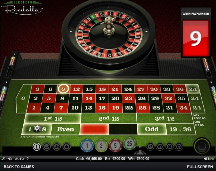Have a go at the fairest online roulette game, European ...