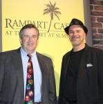 John Pate and Greg Vaccariello at Bonkerz  Comedy Club inside Rampart Casino