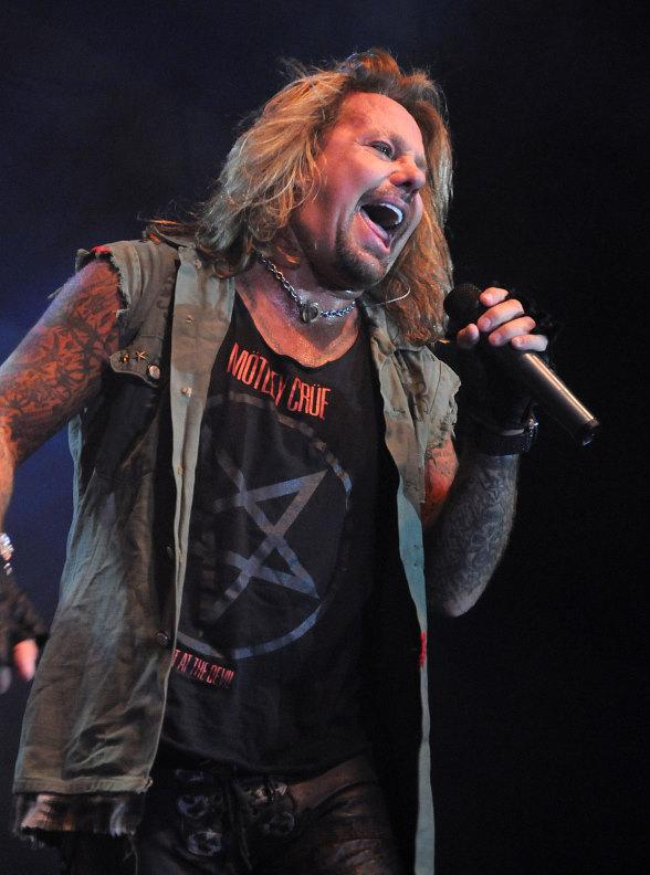 Vince Neil Performs at Eastside Cannery Casino in Las Vegas