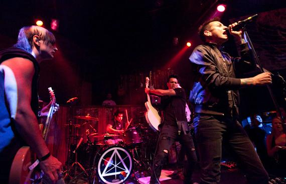 Dead By Sunrise (Chester Bennington of Linkin Park) Performs at Wasted Space
