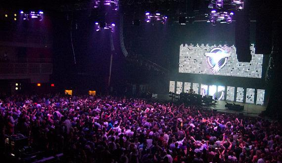 Electronic DJ Tiesto performs at The Joint at Hard Rock Hotel & Casino