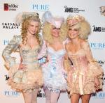 Angel, Rachel and AnnaLynne at PURE Nightclub