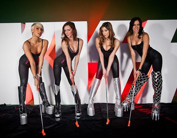 Fantasy Girls of Luxor in KISS Boots