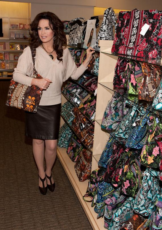 Marie Osmond celebrates the launch of the Marie Lifestyle Collection at Hallmark Gold Crown in Henderson