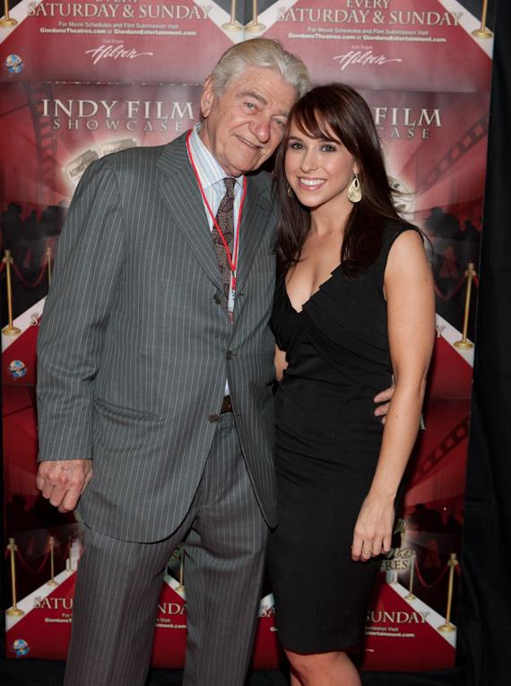 Seymour Cassel and Lacey Chabert