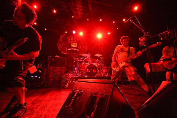 NOFX performs at The Joint in The Hard Rock Hotel & Casino