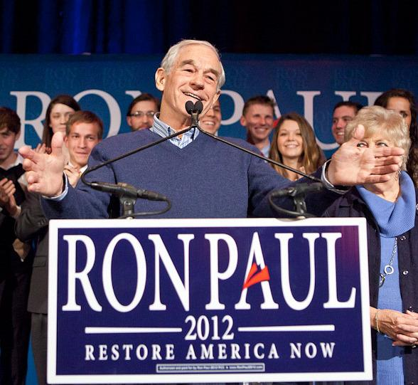 Ron Paul speaks at Green Valley Ranch