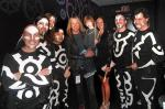 Doug Aldrich and son attend Blue Man Group at Monte Carlo Resort and Casino