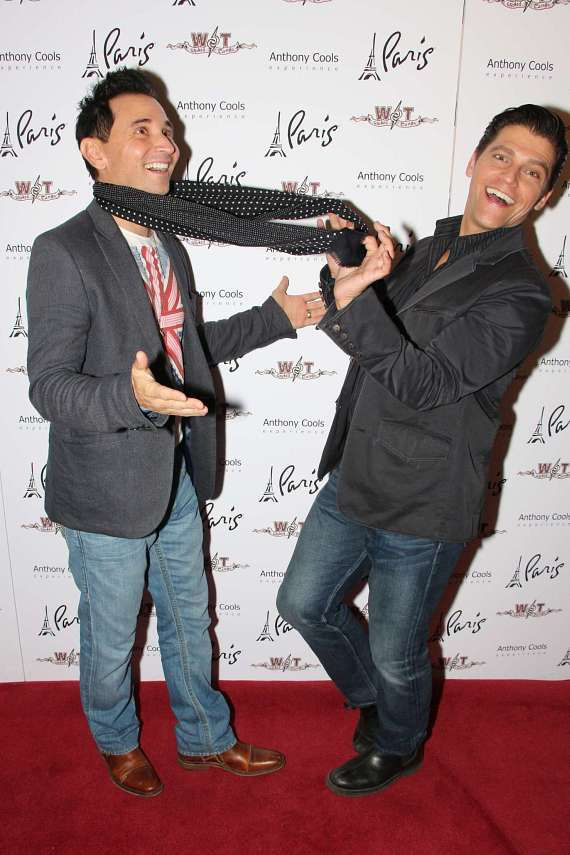 Travis Cloer and Deven May from  Jersey Boys