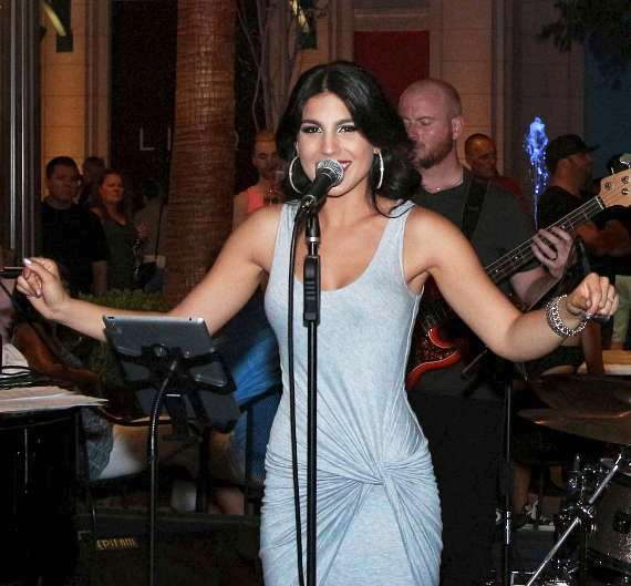 Christina Amato performs live at Blvd Cocktail Company in The LINQ