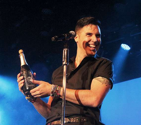 Frankie Moreno performs 500th Show at The Stratosphere in Las Vegas