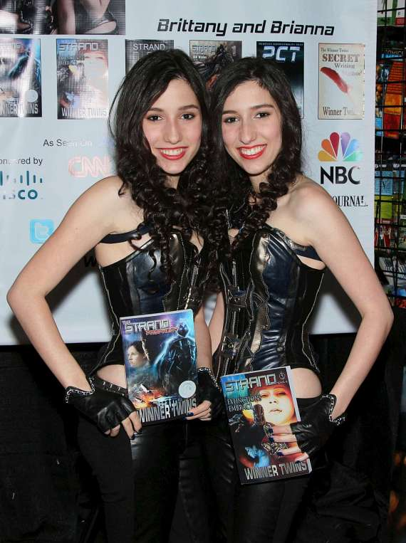 Authors Brianna and Brittany - The Winner Twins