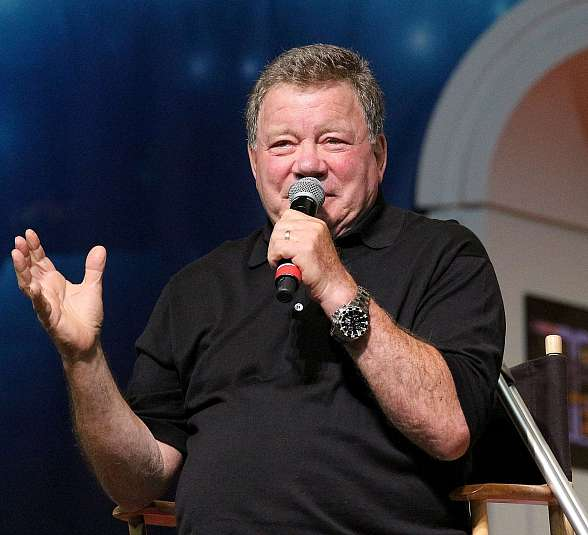 Klingons, Andorians and Vulcans were joined by humans as fans from around the world beamed into Las Vegas on July 31-August 3 for the world's largest Star Trek Convention (Pictured: William Shatner - Photo credit: IraKuzmaPhotos.wordpress.com).