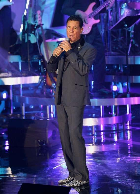Legendary singer Clint Holmes performs at the NF Hope Concert on Sunday, Oct. 19 at The Sands Showroom at The Venetian Las Vegas