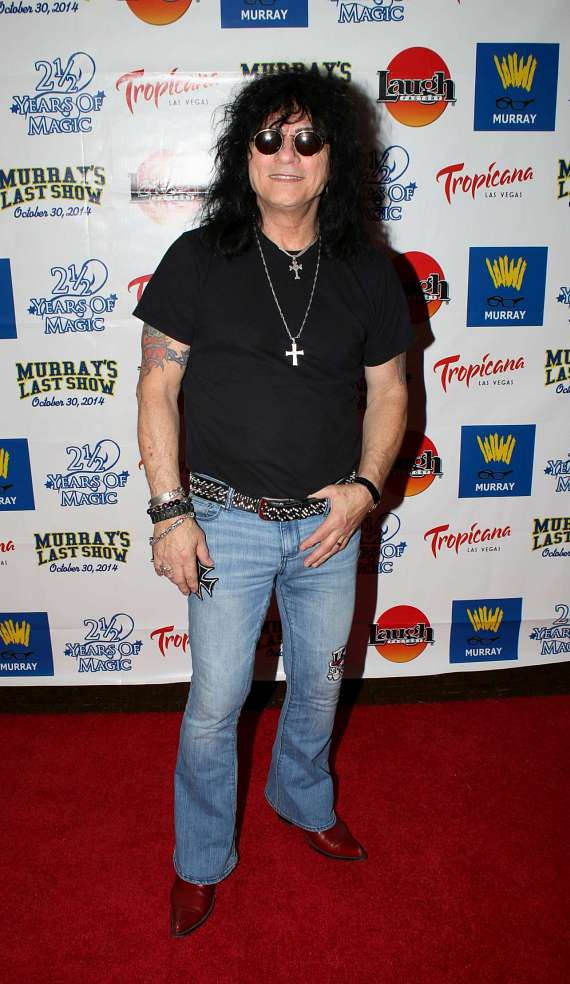 """Raiding the Rock Vault star Paul Shortino"