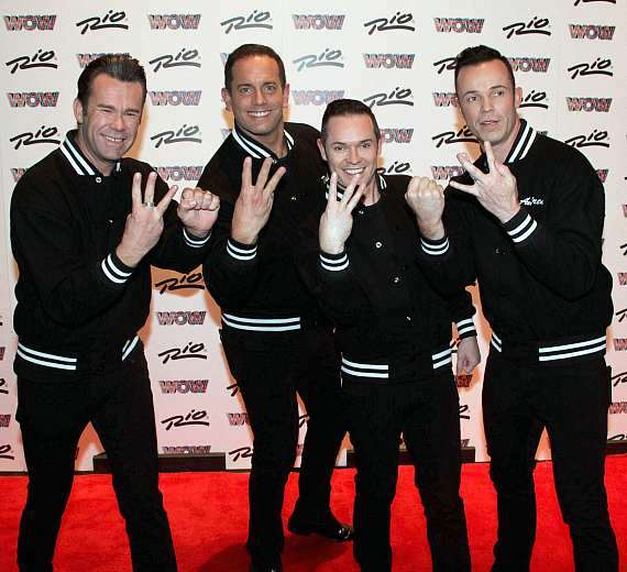 Human Nature on WOW Red Carpet at Rio All-Suite Hotel & Casino