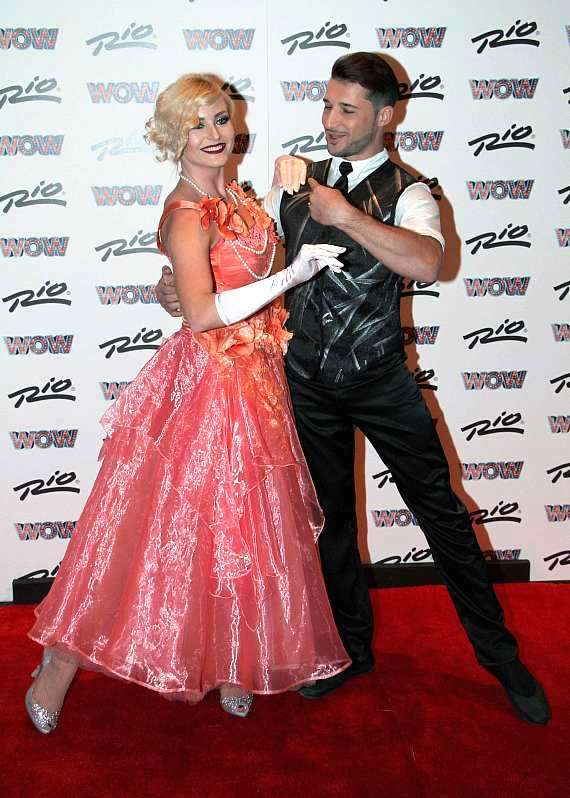 WOW Dancers Dmitriy Bodneryuk and Veronica Shatsylo at Rio All-Suite Hotel & Casino