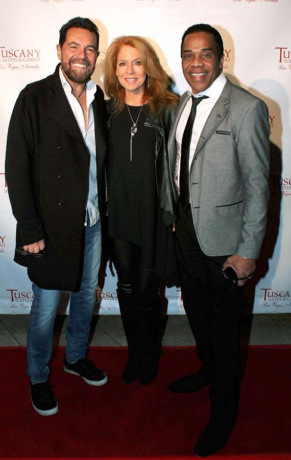 Clint Holmes,Kelly Clinton-Holmes and Earl Turner