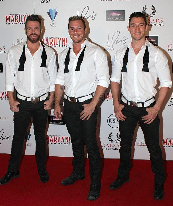 """Cast of Chippendales at """"Marilyn! The New Musical"""""""