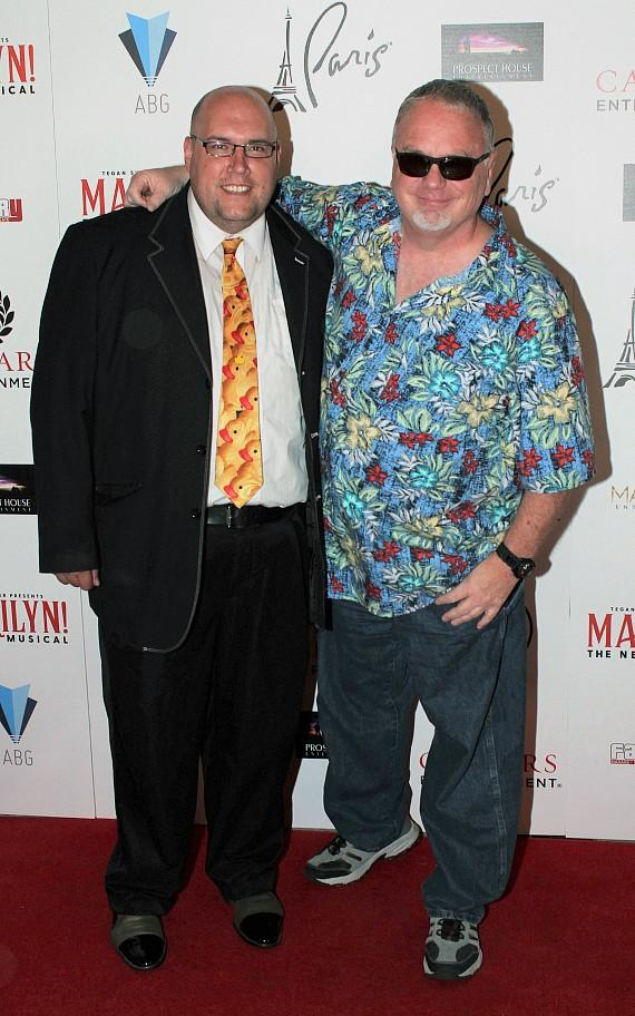 """Adam London and Kevin Burke at """"Marilyn! The New Musical"""""""