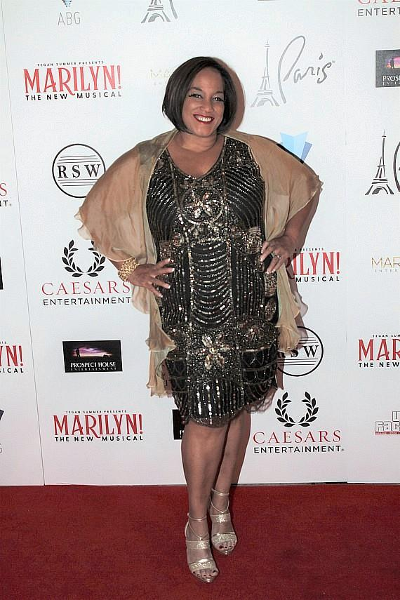 """Michelle Johnson at """"Marilyn! The New Musical"""""""