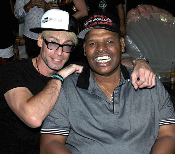 Murray SawChuck and Leon Spinks