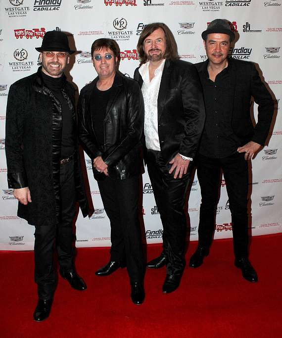 """Australian Bee Gees at """"Toys for Tots"""" Charity Benefit in Las Vegas"""